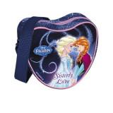 Geanta Inimioara Frozen Sisterly Love, 1 compartiment, fermoar