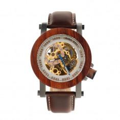 Ceas din lemn Bobo Bird mecanic, K12 Wooden Lux