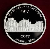 SV * Moldova  100  LEI  2017  < 100  ANI  SFATUL TARII  1917 >    ARGINT   PROOF