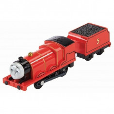 Trenulet James Locomotiva Motorizata cu Vagon Thomas&Friends Track Master