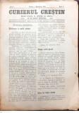 Revista CURIERIL CRESTIN, editii 1919-1928