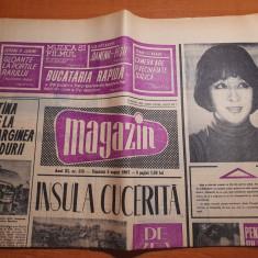magazin 5 august 1967- anda calugareanu,art. si foto insula mare a brailei