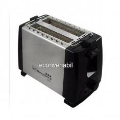 Toaster Prajitor Paine Hausberg HB160 750W Inox