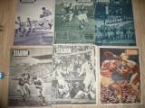 Set 11 Reviste Stadion si Sport anii '47,'48 ,49,'71 -Meciuri Internationale Rom