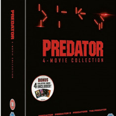 Filme Predator 1-4 DVD Complete Collection, Engleza, independent productions