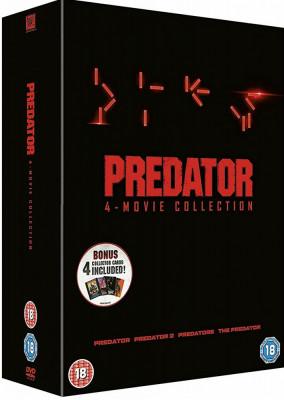 Filme Predator 1-4 DVD Complete Collection foto