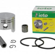 Kit Piston + Segmenti Motocoasa - Moto Coasa - Moto Cositoare - 43cc - 40mm