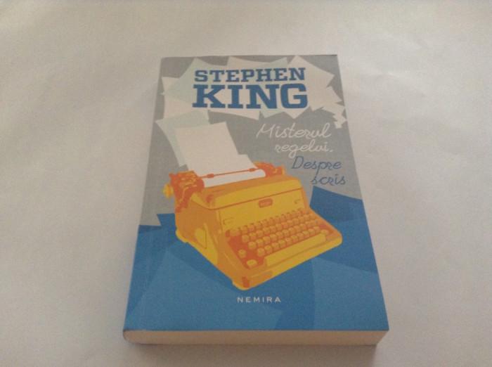 Misterul Regelui Despre Scris - Stephen King,RF10/3
