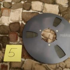 5. Banda Magnetofon REVOX rola metalica 26cm-Black (Akai,Teac,Tascam,Agfa,BASF)