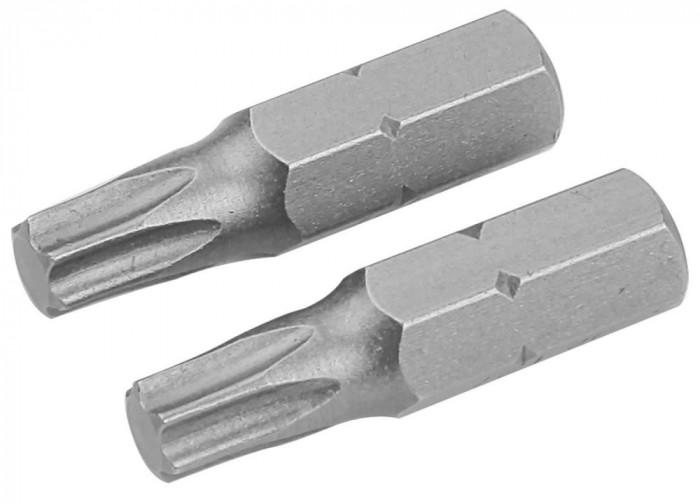 Set de varfuri de surubelnita din 2 bucati, T20x25 mm, S2, I, 20223
