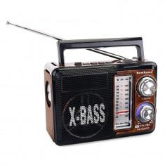 Radio portabil Tividio KN-162URT, USB, suport card SD/TF, LED, lanterna