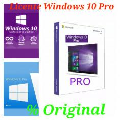 Licenta Windows 10 Pro 100 Originala foto