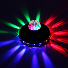 Lumini disco 51 led rgb control digital220v