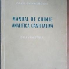 Manual de chimie analitica cantitativa- Const.GH.Macarovici