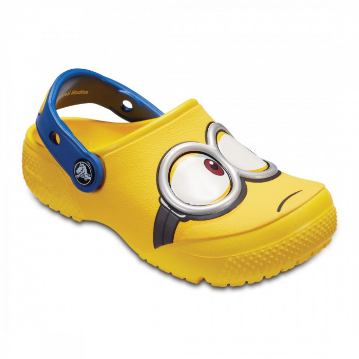 Saboți Copii casual Crocs Crocs Fun Lab Minions Clog