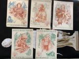 WINTERHILFSWERK 1938-1939 serie 5 buc., Europa, Documente
