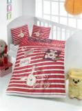 Lenjerie de pat pentru copii, Victoria, 121VCT2004, Multicolor