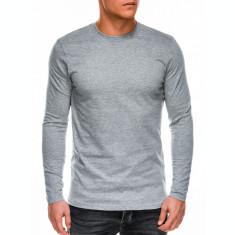 Bluza barbati simpla bumbac L118-gri
