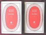 """""""TEATRU"""", Vol. 1+2, Lucian Blaga, 1984. Colectia PATRIMONIU"""