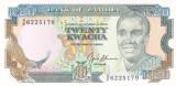 Bancnota Zambia 20 Kwacha (1991) - P32b UNC