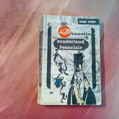 DINASTIA SUNDERLAND BEAUCLAIR - Vol. II - Vintila Corbul (autograf) -1967, 351p