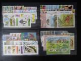 Timbre tematice Flora si Fauna , serii si colite ( Lot 2007), Stampilat