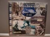 Millennium 4o Hits '80-'84 - Selectii - 2CD(1998/Emi/France)-CD ORIGINAL/Sigilat, emi records