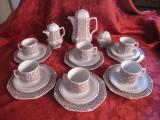 SET / SERVICIU CAFEA SI TORT PORTELAN SELTMANN WEIDEN W.GERMANY MODEL MIRABELL