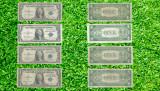 Lot bancnote autentice Dolari Americani 1935, 1957