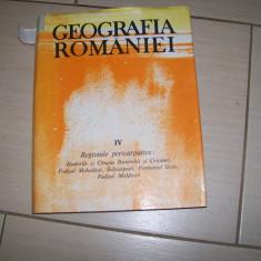 GEOGRAFIA ROMANIEI VOL,IV REGIUNILE PERICARPATICE