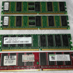 Memorii RAM PC DDR 128 / 256 MB / 400 MHz / PC2100