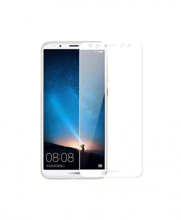 Geam Soc Protector Full LCD 5D Huawei Y6 (2018) Alb