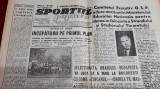 Ziar SPORTUL POPULAR 12 04 1946
