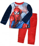 Costum fleece cu Spiderman