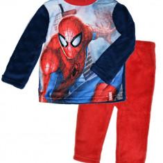 Costum fleece cu Spiderman