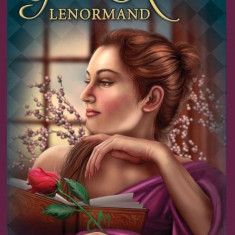 Carti tarot Gilded Lenormand +cadou  un set rune viking