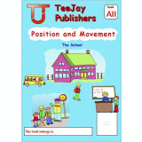 TeeJay Mathematics CfE Early Level Position and Movement: The School (Book A11)