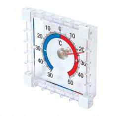 Termometru interior-exterior cu autocolant