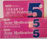 Acnee Pete Benzaknen Peroxide Benzoyl 5% 42.5 gr USA