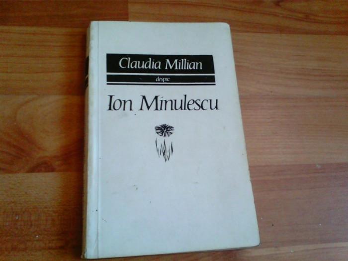 ION MINULESCU- CLAUDIA MILLIAN