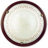 Cumpara ieftin Plafoniera Le 01/01412 alb anticata grace il legno 60 watt E27