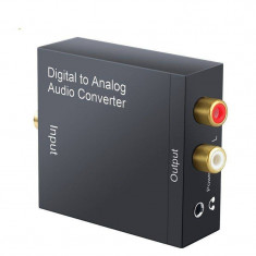 Audio converter OEM digital to audio TOSLINK / 2xRCA+jack 3.5mm