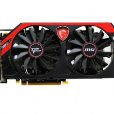 Placa video MSI AMD R9 270 GAMING 2G, R9 270, PCI-E, 2048MB GDDR5, 256 bit, 900MHz, 5600MHz, 2*DVI, HDMI, DP, OC, TWIN FROZR IV, FAN bulk
