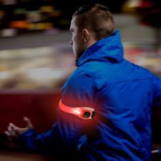 Banda luminoasa LED de siguranta, reglabila pentru brat/picior, Forever