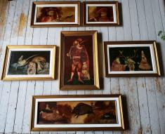 Colectie 6 lucrari (tablou) Petre Velicu foto