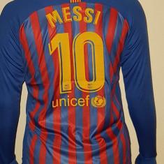 Tricou maneca lunga FC BARCELONA,10 MESSI,model 2018, L, S, XL, XXL, Din imagine, De club
