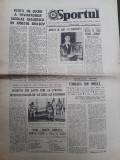 Ziarul Sportul din 27 septembrie 1975