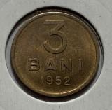 3 Bani 1952 Romania, a UNC