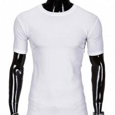 Tricou barbati bumbac S970 alb