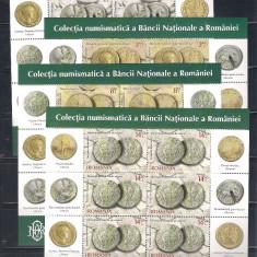 ROMANIA 2015 - COLECTIA NUMISMATICA A BNR - MINICOLI - LP 2087